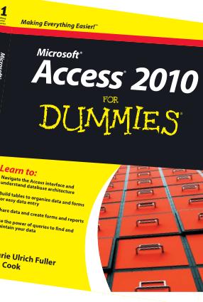 Microsoft Access 2010 For Dummies. MS Access Tutorial PDF Book | Free PDF Books