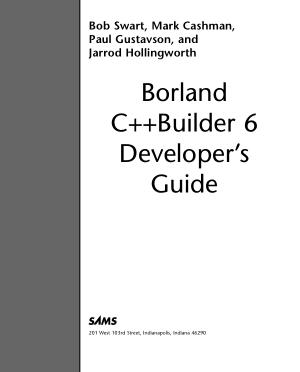 Borland C++ Builder 6 Developer Guide