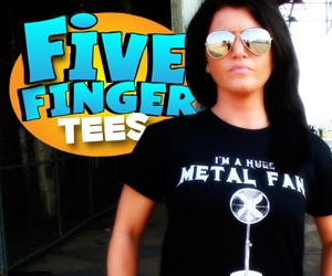 Five Finger T  Shirts