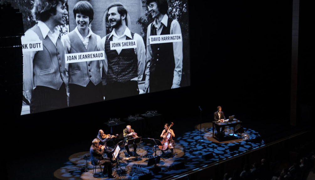 'A Thousand Thoughts' brings Kronos Quartet's live documentary performance to festival