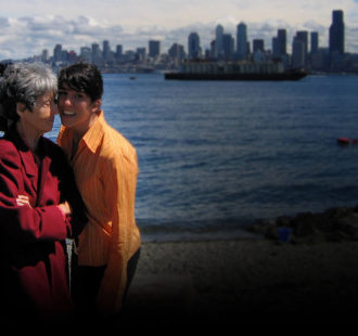 Maria Irene Fornes and filmmaker Michelle Memran in Seattle, 2005 (Photo by and courtesy of Michael Smith) (1)_WEB