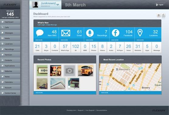 Way 2: FlexiSpy iPhone Hacker