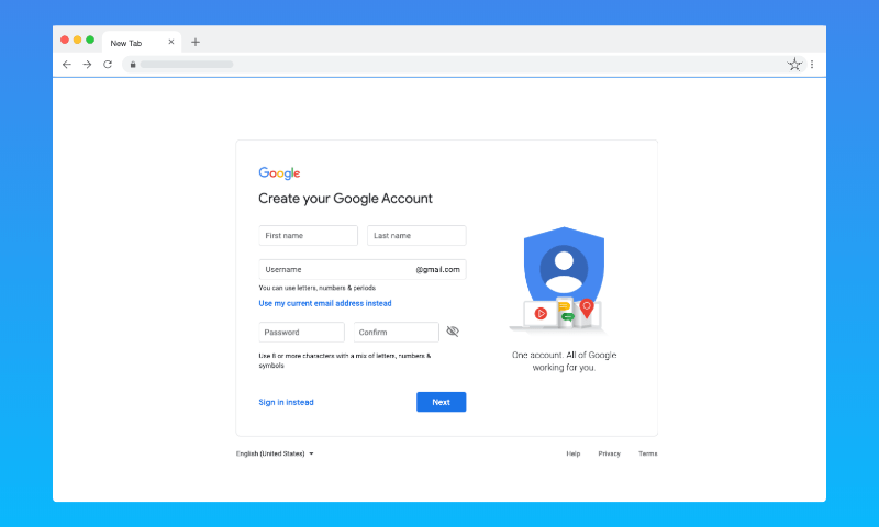 Hacking Google Account