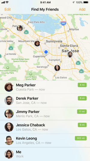 HOW TO FIND FRIENDS IN FIND MY ON IPHONE