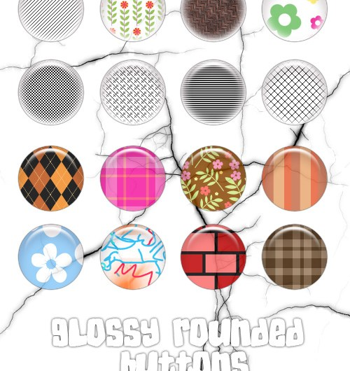 Glossy Buttons Style