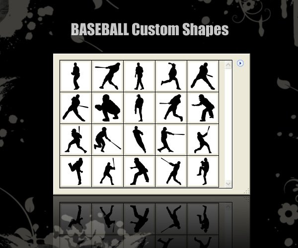 Baseball Custom Shapes