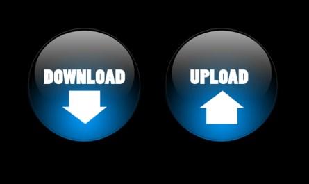 Download & Upload Button