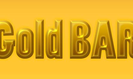 Gold Bar layer style