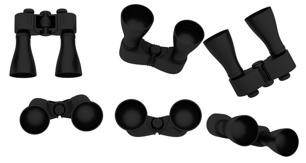 Binoculars PSD and Picture