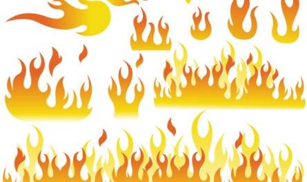 Fire Elements Shapes Designs