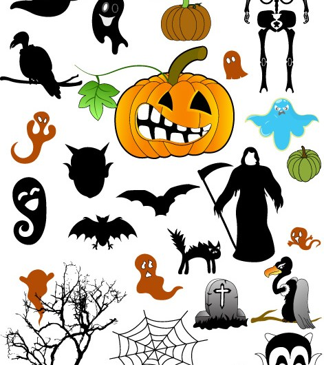 Halloween Brushes, Vectors, Shapes, PNG & Picture