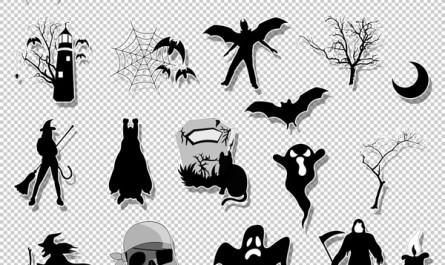 Halloween Spooky Graphic Designs