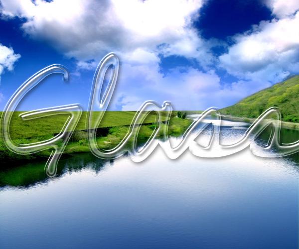 glass-text-effect