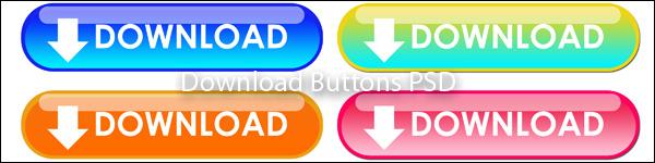 psd buttons