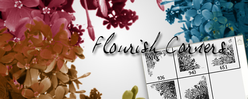 Corner Flourish Brushes