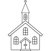 Download Church Black And White Image Png Clipart PNG Free FreePngClipart