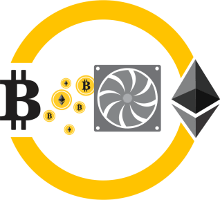 Mining of Bitcoin and Ethereum