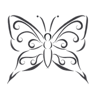 Download Butterfly Design Free PNG photo images and
