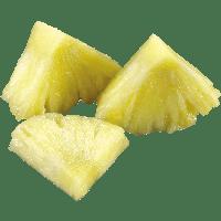pineapple transparent pieces clipart freepngimg