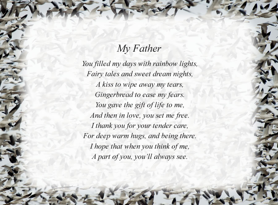 Free Father Poems
