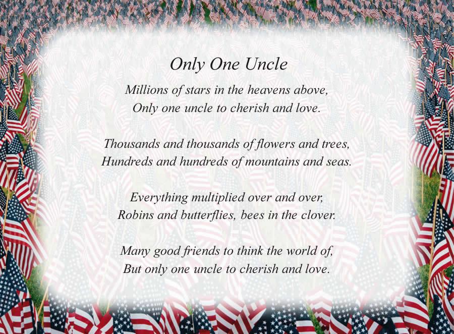 Free Uncle Poems