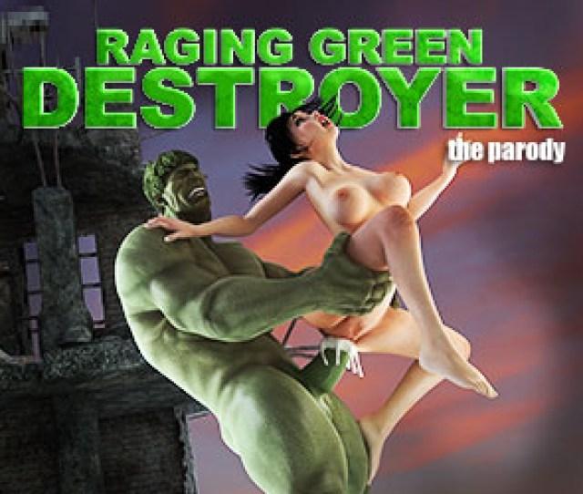 Raging Green Destroyer Game