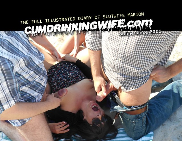CumDrinkingWife.com SiteRip - Marion Is Real Life Swinger Slutwife, Who Likes To Be Gangbanged At Real Public Locations. This Is True Reality Porn, No Staged Scenes!