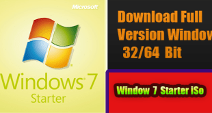 Windows 7 Starter Full Version Free Download ISO