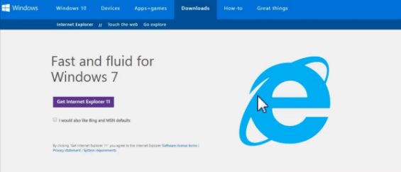 internet explorer free download for windows 10