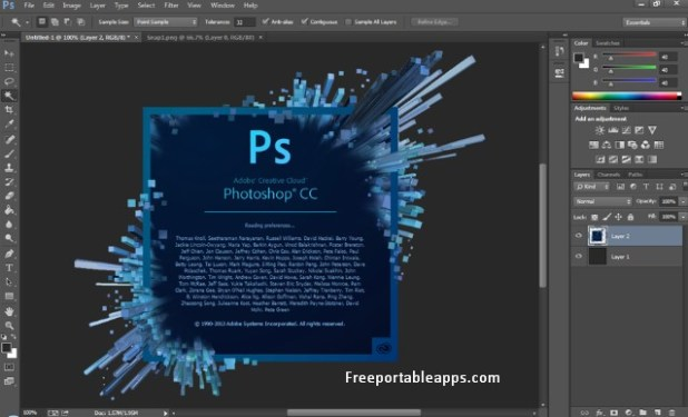 Portable Adobe Photoshop CC 2020