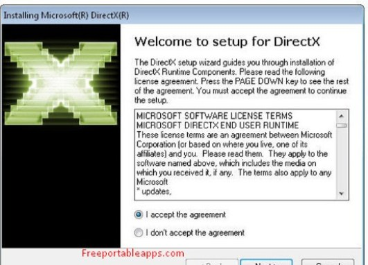 DirectX Portable Version