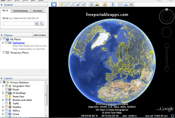Download Google Earth for Windows 10