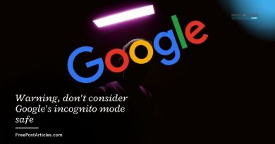 Warning, don't consider Google's incognito mode safe