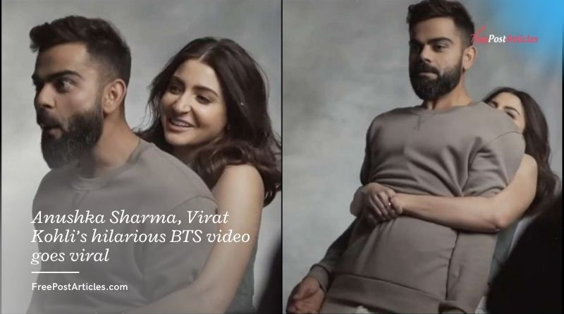Anushka Sharma, Virat Kohli's hilarious BTS video goes viral