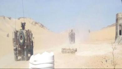 """Photo of الطيران الحربي الإماراتي يقصف نقطة أمنية تابعة لقوات """"الشرعية"""" في حبان"""
