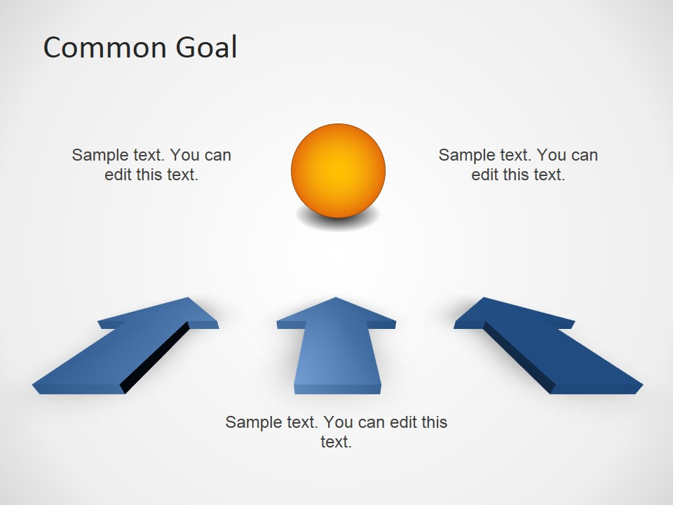 00007 01 Common Goal Template 2 Free PowerPoint Templates