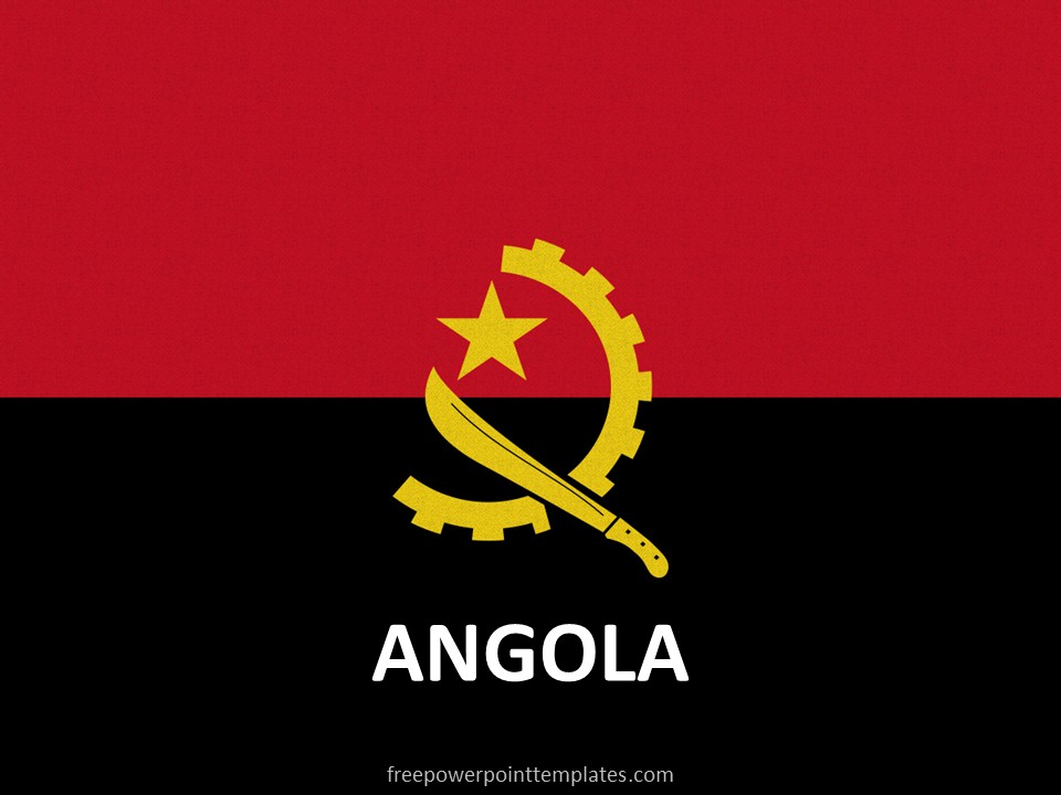 Free Angola PowerPoint Template
