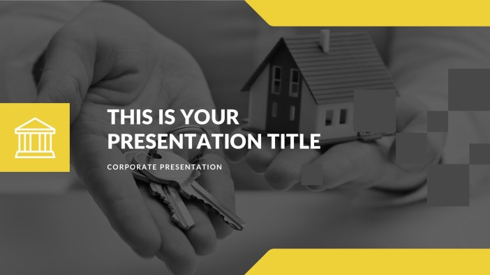 Free Real Estate PowerPoint, Free Keynote, and Free Google Slides