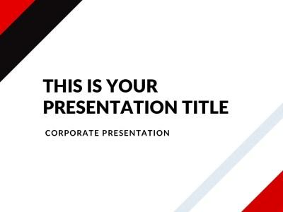 Market Real Estate Free Presentation Template
