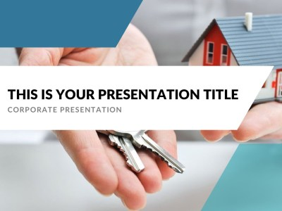 Generic Real Estate Free Presentation Template