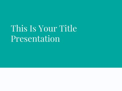 Free PowerPoint Template / Free Keynote Theme / Free Google Slides