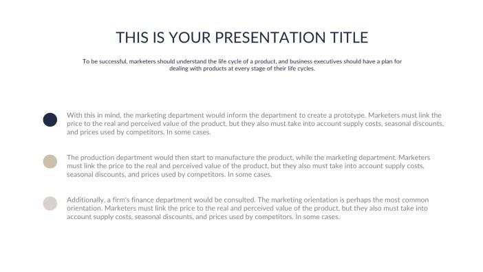 Free Presentation Template