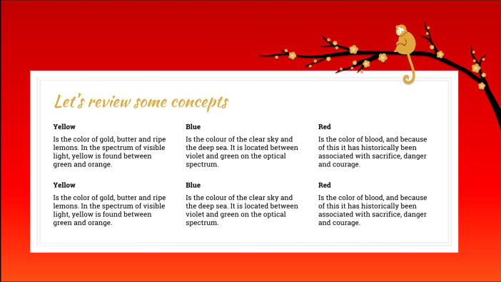 Chinese New Year Free Presentation Template