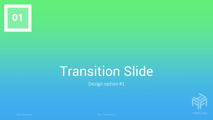 Transitions Modern Free Powerpoint Template