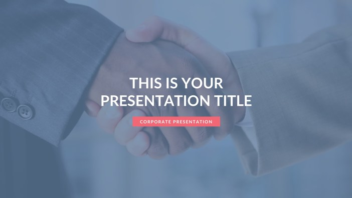 Free Business Presentation