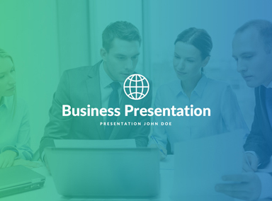 Free Business Presentation Template
