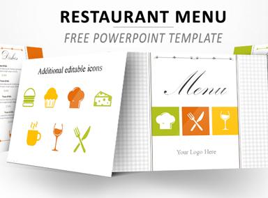 Restaurant Menu PowerPoint Template