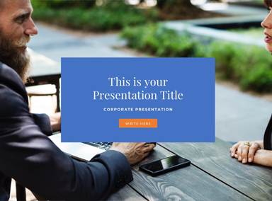 Business Free Presentation Template