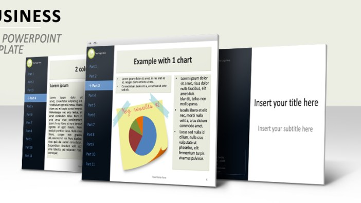 Business Template PowerPoint