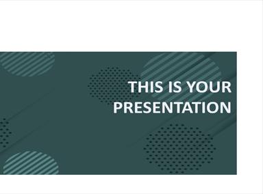Free Pitch Deck Presentation Template